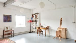 Bright studio space