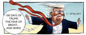 100 Days Of Trump, The Year Of Brexit...and Boris