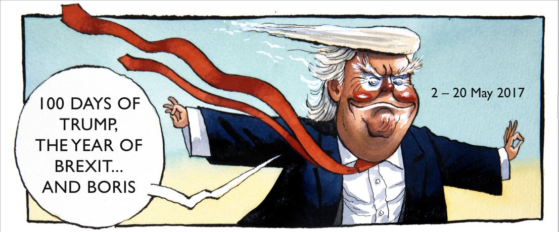 100 Days Of Trump, The Year Of Brexit...and Boris: Image 0