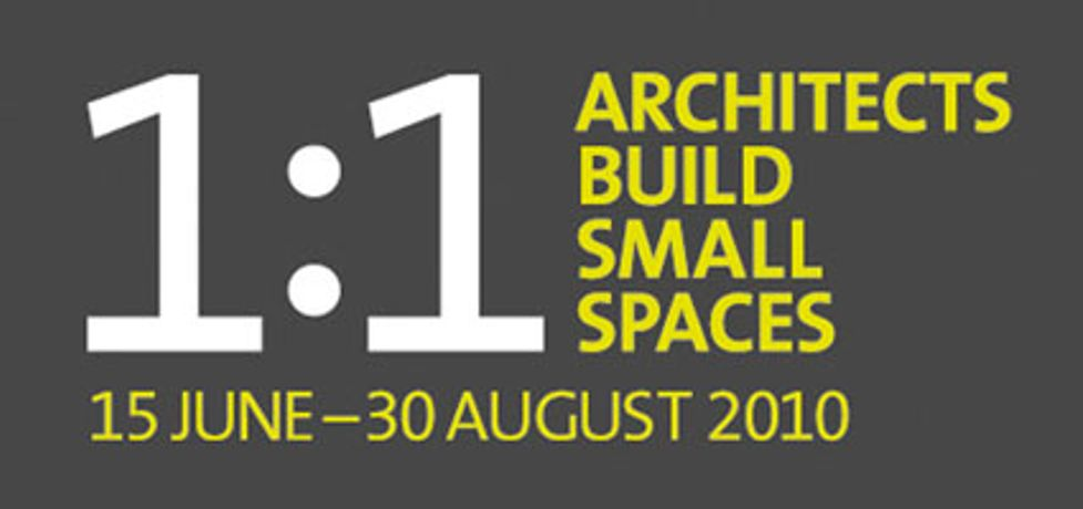 1:1 Architects Build Small Spaces: Image 0