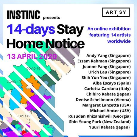 14-days STAY HOME NOTICE online exhibition