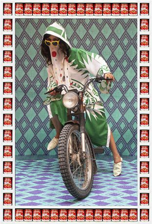 Hassan Hajjaj, M., 2010, Courtesy Taymour Grahne Gallery
