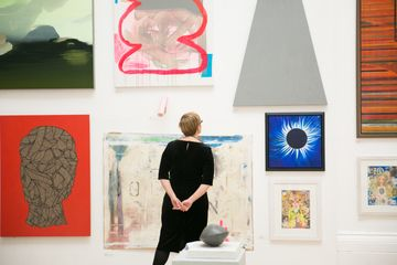 165 Annual Open Exhibition, RWA, image by Lisa Whiting