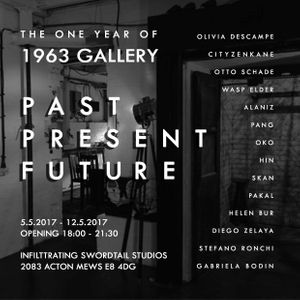 1963 Gallery: 1 Year Group Show Past, Present, Future""