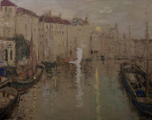 James Kay, From the Bridge at Ghent, Belgium
