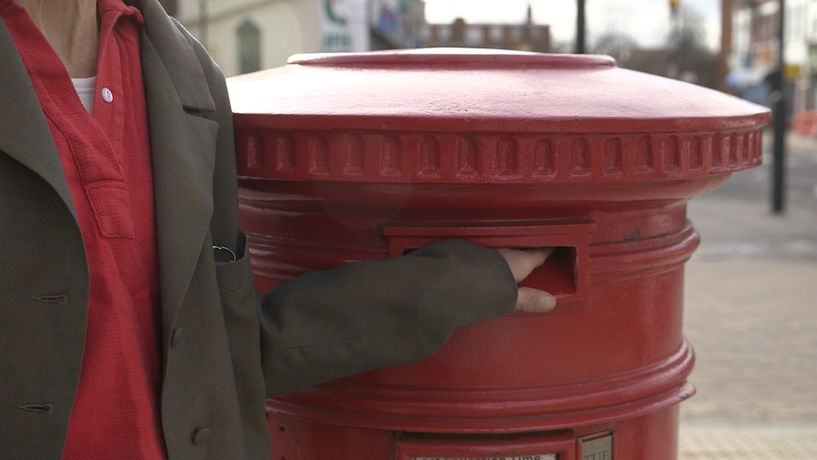 where's Peter's postcard?, 2019, Oona Grimes, HD video still