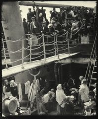 Alfred Stieglitz, The Steerage, Publication: 1907, printed 1915. Courtesy of Shapero Rare Books