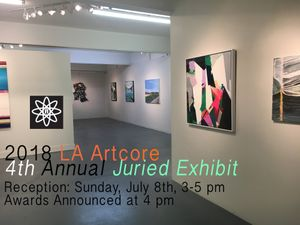 2018 LA Artcore 4th Annual Juried Exhibit Reception