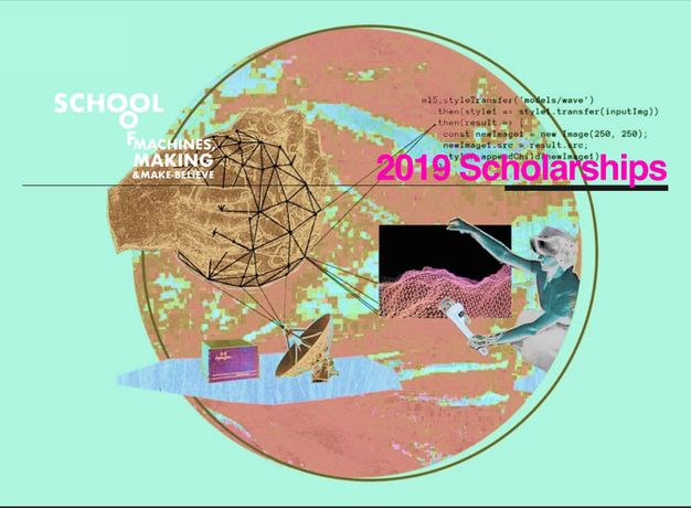 2019 Diversity Scholarships until 15. January: School of Machines, Making & Make-Believe: Image 0