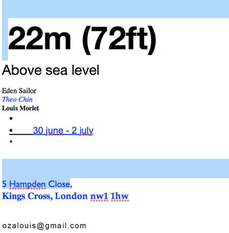 22m (72ft) Above Sea: Image 0
