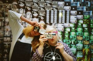 25 Years of Lomography - LomoWall Ganton St