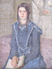 Gwen John - Portrait of a girl
