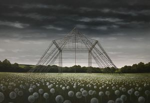 Lee Madgwick  The Pyramid Stage 90 x 130 cm
