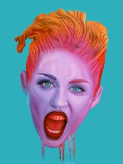 Miley by Juan Barletta