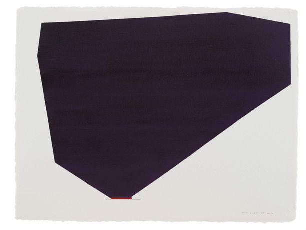 Anne Truitt  '6 Sept '87 No. 1' 1987. Courtesy the Estate of Anne Truitt, Stephen Friedman Gallery and Matthew Marks Gallery.