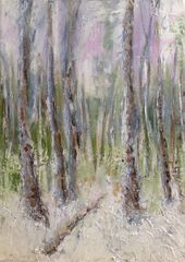Winter Woods 2014 Oil on canvas