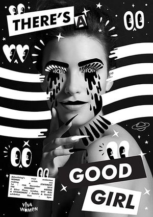 Hattie Stewart artwork for 'There's a Good Girl' exhibition