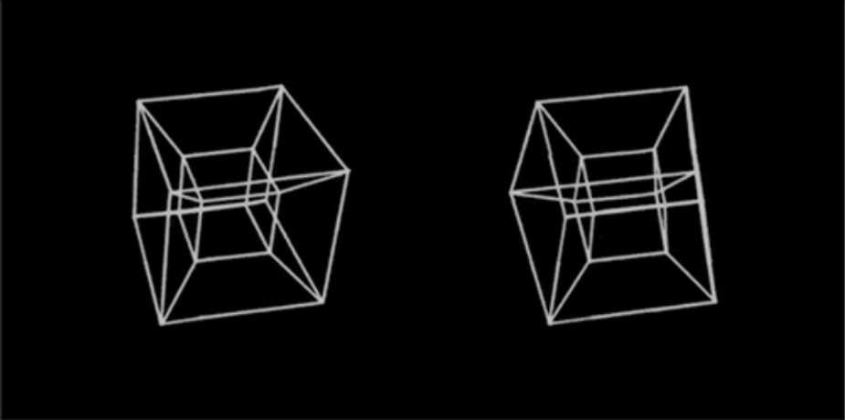 A. Michael Noll, Computer-generated 3D animation, c. 1965, Computer animation, Dimensions variable, Courtesy of the artist and Bell Telephone Laboratories, Incorporated