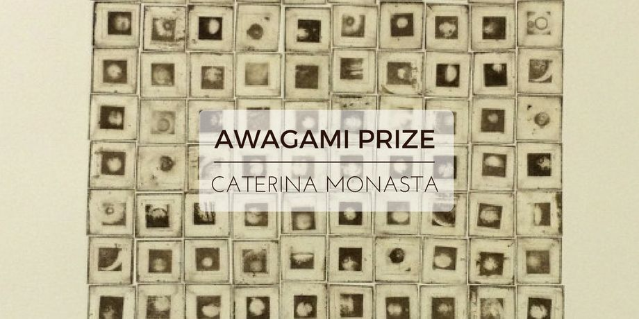 Winner of AWAGAMI PRIZE 2016, Caterina Monasta
