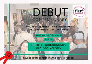 3rd Birthday Party at Debut Contemporary
