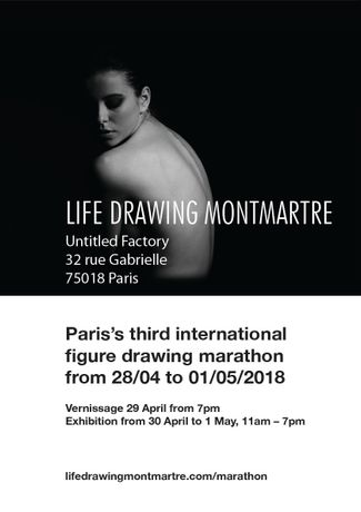 3rd International Life Drawing Marathon: Image 1