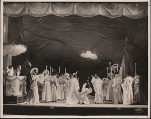 Scene from the theatrical production Four Saints in Three Acts, 1934.Photo by White © Archives. Wadsworth Atheneum Museum of Art