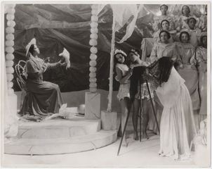 Scene from the theatrical production Four Saints in Three Acts, 1934. Photo by White Studio © Archives