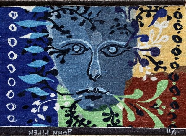 John Piper 'Foliate Head Tapestry'