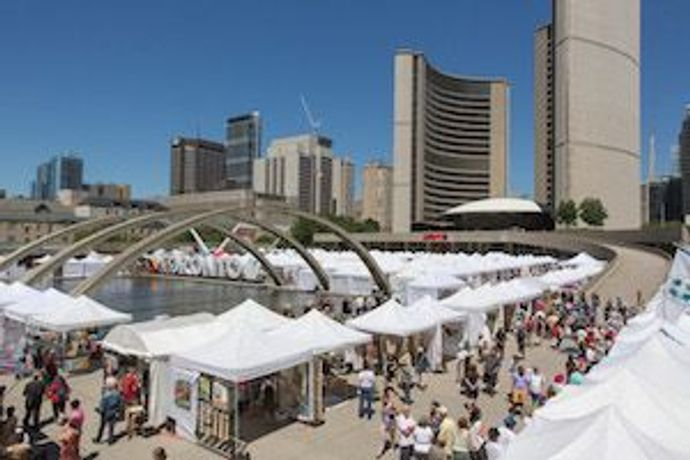 59th Toronto Outdoor Art Fair: Image 2