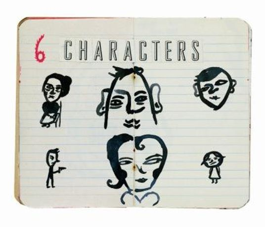 6 Characters in Search of an Author: Image 0