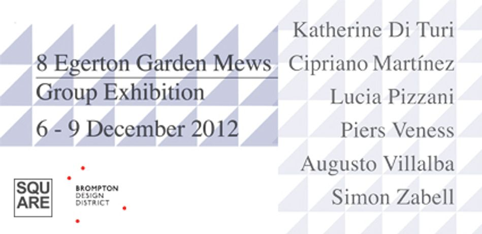 8 Egerton Garden Mews. Group exhibition: Image 0