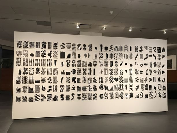 Installation shot of the exhibition