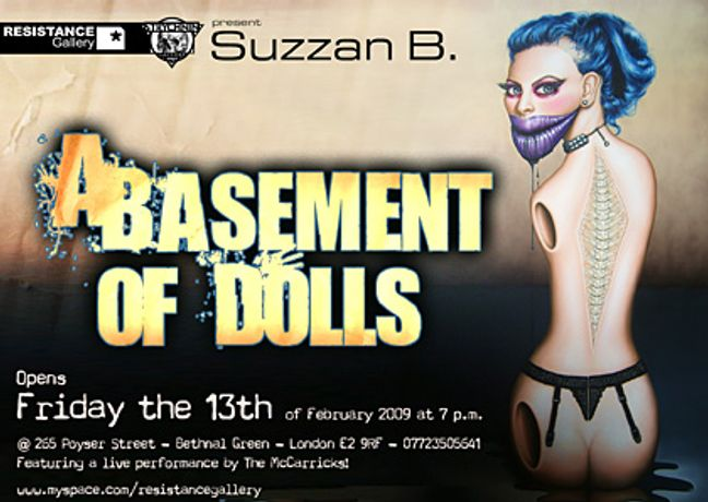 A Basement of Dolls - New works in oil by Suzzan B.: Image 0