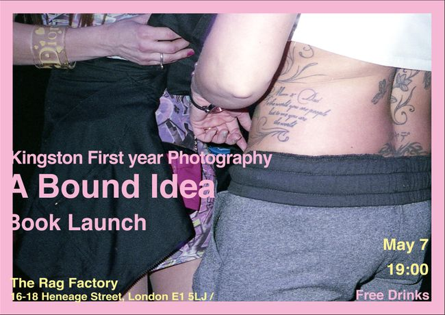 A Bound Idea - Kingston Photography Book launch: Image 2