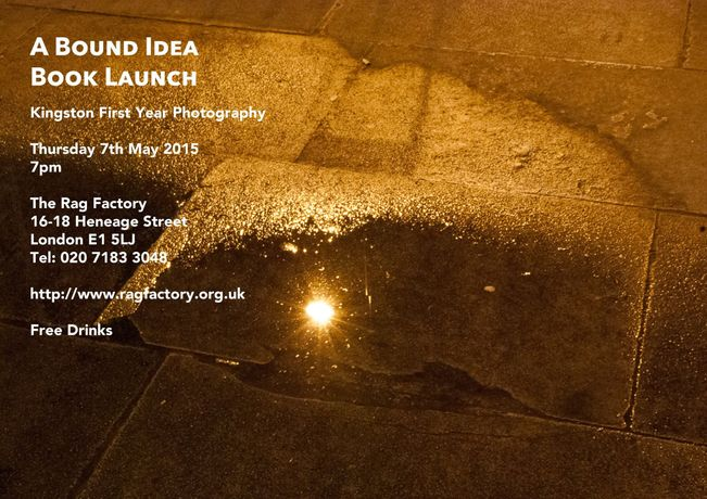 A Bound Idea - Kingston Photography Book launch: Image 3