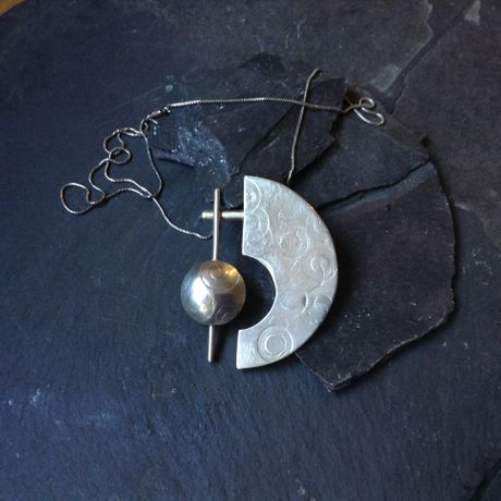 silver jewellery   by  Moira Pedreschi