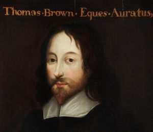 Sir Thomas Browne, 17th Century Portrait (c) Royal College of Physicians