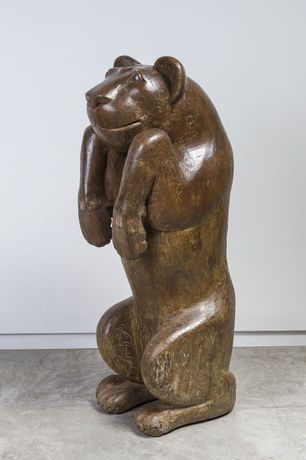 Itamar Julião Untitled, undated Wooden sculpture 126 x 44 x 48 cm | 49.60 x 17.32 x 18.89 in