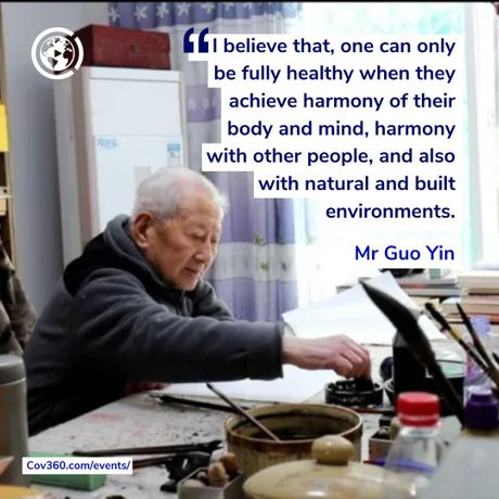 Curious about what Mr Guo has to say about harmony, health, ecology, and COVID-19?