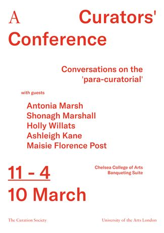 A Curators' Conference: Conversations on the Paracuratorial: Image 0