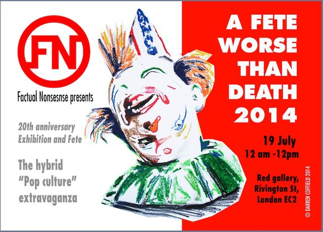 'A FETE WORSE THAN DEATH 2014: Image 0