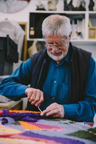Keith Gretton Textiles at Devon Guild of Craftsmen