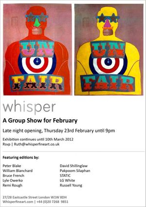 A Group Show for February
