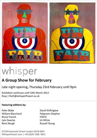 A Group Show for February: Image 0