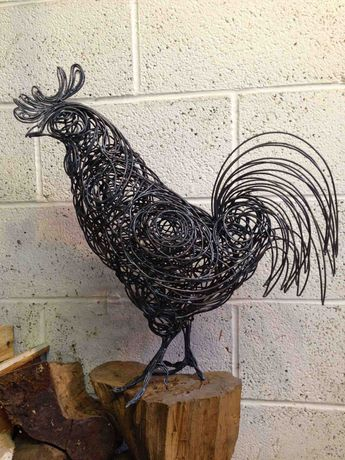 Metalwork sculpture by Kate Risdale