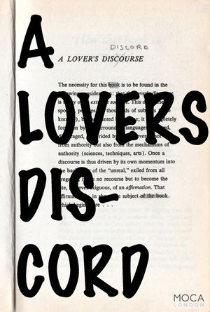 A Lover's Discord
