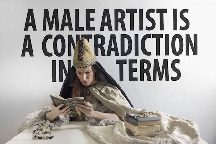 "A ""male artist"" is a contradiction in terms: Image 0"