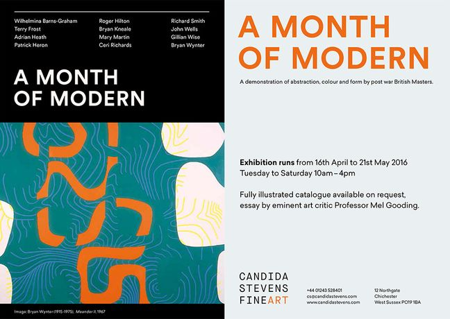 A MONTH OF MODERN: Image 0