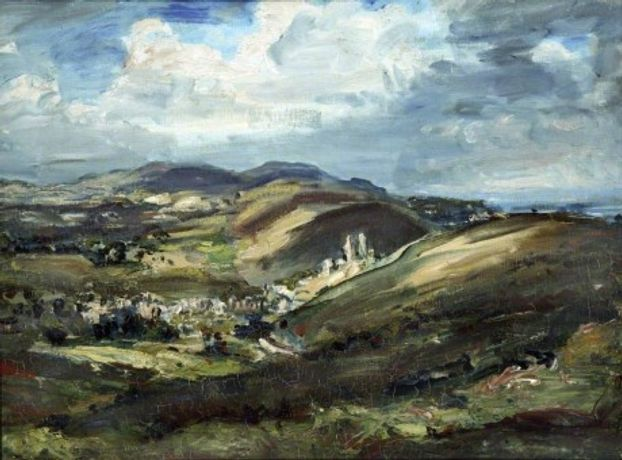 Philip Wilson Steer: Corfe Castle and the Isle of Purbeck 1908