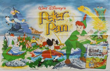 Peter Pan (Walt Disney) - Original Film Poster